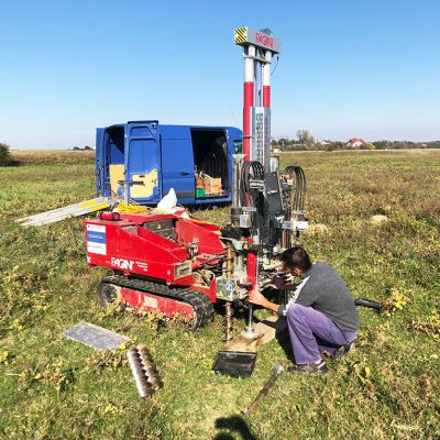 Geotechnical and hydrogeological studies